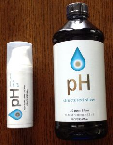 pH Structured Silver Liquid and Gel 30 ppm
